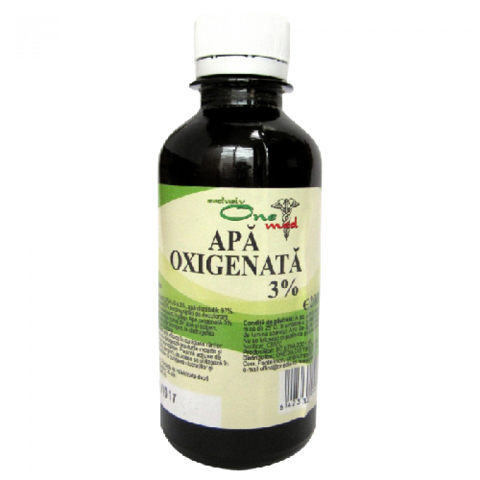Apa oxigenata 3% 200 ml OneMed Onedia