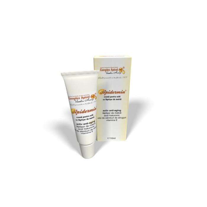 Apidermin crema pentru ochi complex antiaging 10 ml Complex Apicol