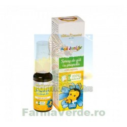 ApiJunior Spray gat propolis fara alcool 20 ml Albina Carpatina Apicola