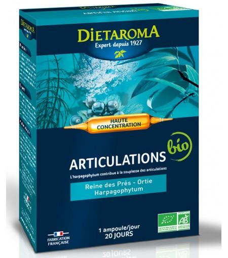 Articulatii BIO 20 fiole Supliment pentru mobilitate articulara Dietaroma France