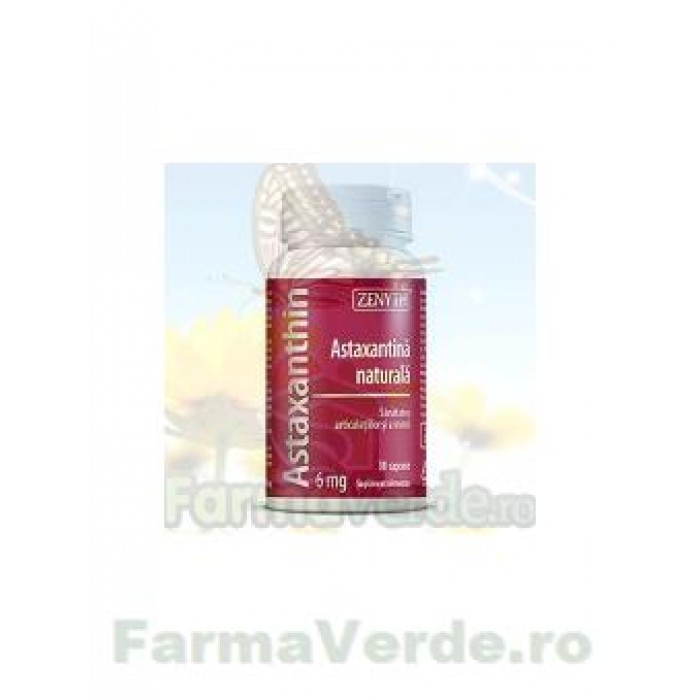 Astaxanthin 6 mg 30 capsule ZENYTH PHARMA
