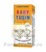 BABY TUSIN Sirop Caramel pentru Copii si Bebelusi 125 ml Cosmopharm