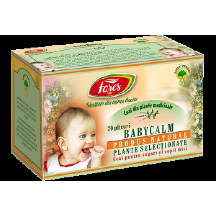 Ceai Babycalm 20 doze Fares