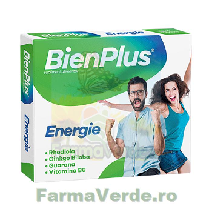 BienPlus Energie 10 capsule Fiterman Pharma