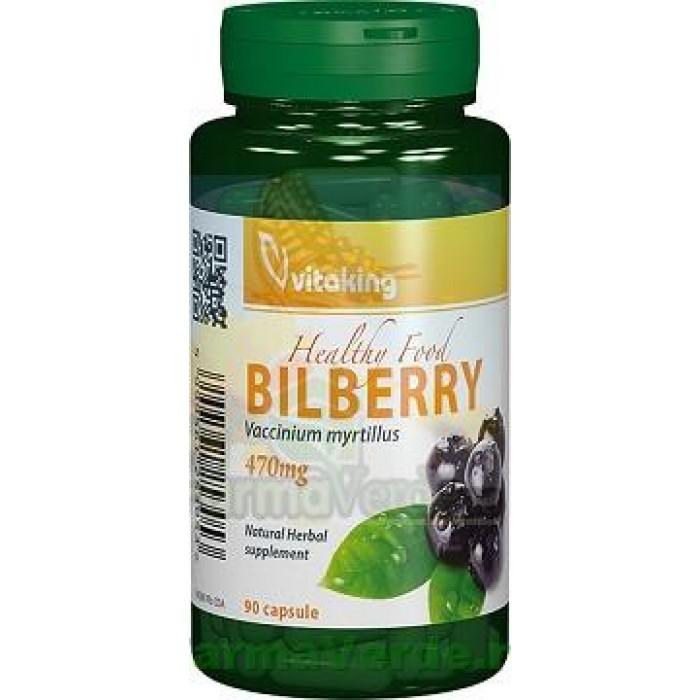 Afine Negre Bilberry 90 capsule Vitaking