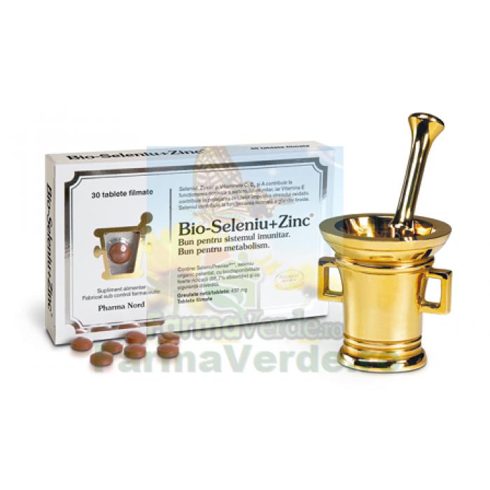 Bio-Seleniu+Zinc 30 tablete Pharma Nord
