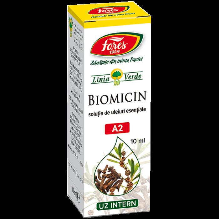 Biomicin Solutie de uleiuri esentiale 10 ml Fares Orastie