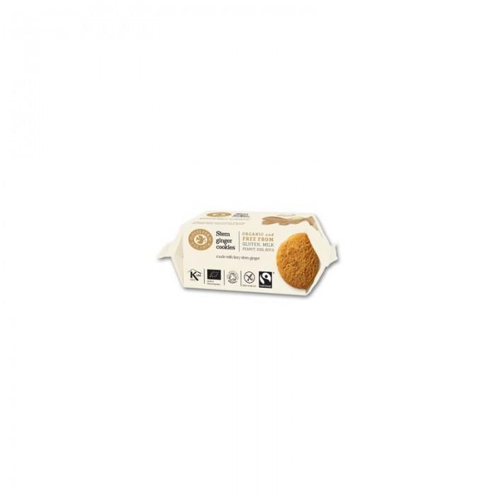 Biscuiti Organici cu Ghimbir Fara Gluten 150 g DovesFarm