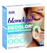 Gel decolorant pentru parul facial sau mustata cu musetel BIO Blondepil, 2 bucati x 25 ml