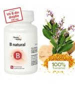 B Natural Vitamine si Minerale 60 Comprimate DaciaPlant