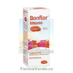 Bonflor Imuno Picaturi Vitamina D3 500UI 9 ml Fiterman Pharma
