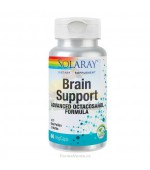 Brain Support Memorie si Concentrare 60 capsule vegetale Solaray Secom