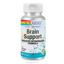 Brain Support Memorie si Concentrare 60 capsule vegetale Solaray Secom