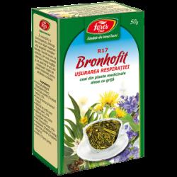 Ceai Bronhofit R17 Usurarea Respiratiei 50 gr Fares