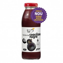 Nectar Coacaze Negre BIO fara Zahar 300 ml Bun de Tot DaciaPlant