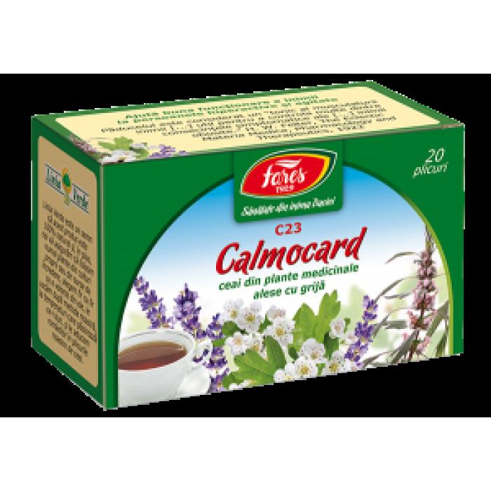 Ceai Calmocard (fost Calmant Cardiac) 20 dz Fares