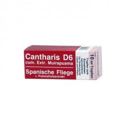 Cantharis D6 (Cantaris) 10ml Afrodisiac Natural Razmed