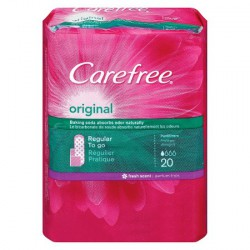 Carefree Tampoane Original Fresh 20 buc Johnson