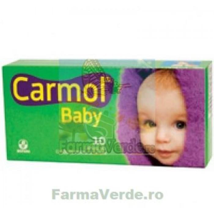 Biofarm Carmol Baby Capsule Gelatinoase 10 capsule
