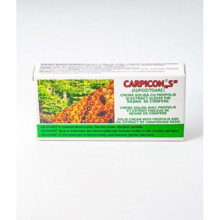 Carpicon S Crema Solida Supozitoare 1,5gr ElzinPlant