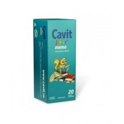 Biofarm Cavit Memo pentru memorie cu precizie de ceas 20 cpr