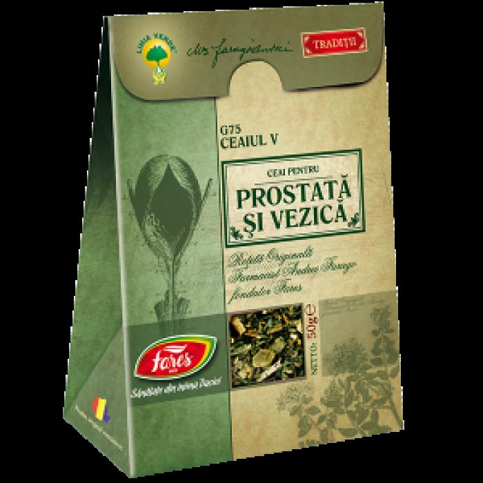 Ceai V Prostata si Vezica reteta originala Andrei Farago 50 gr Fares