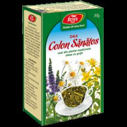 Ceai Colon Sanatos D64 50 gr Fares