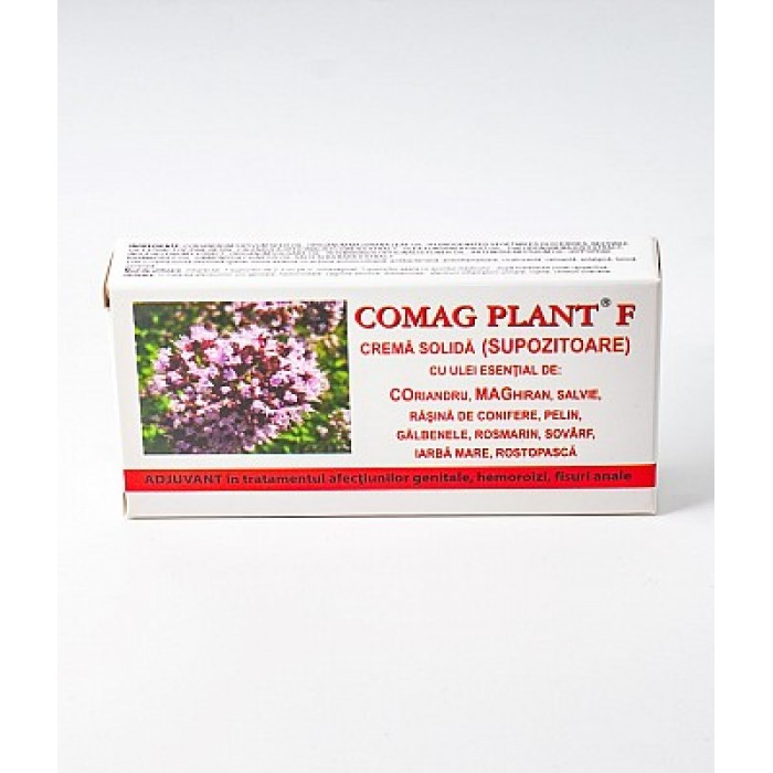 Comag Plant F 10 supozitoare 1,5 gr Elzin Plant