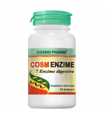 CosmEnzime 7 enzime digestive 10 drajeuri Cosmopharm