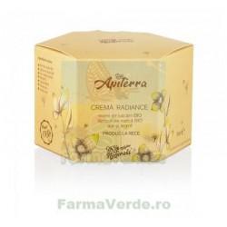 Crema Radiance cu miere de salcam si laptisor de matca 50 ml Apiterra