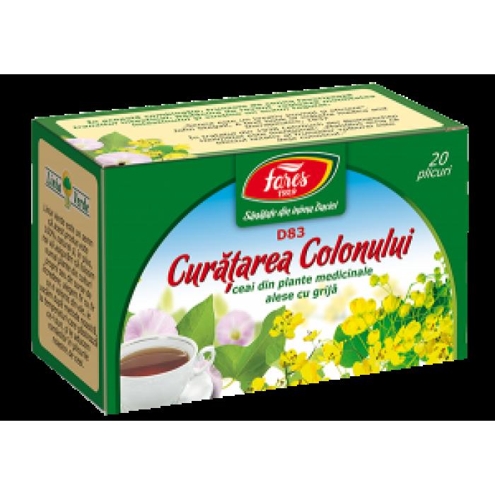 Ceai COLON SANATOS 20 dz Fares