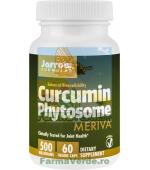 Curcumin Phytosome 500mg 60 capsule Jarrow Formulas Secom