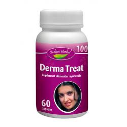 Derma Treat Sanatatea Pielii 60 capsule Indian Herbal