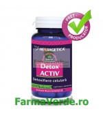 DETOX ACTIV 30 capsule Herbagetica