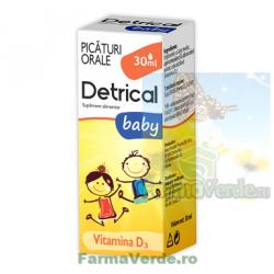 Detrical Baby Picaturi Orale 30 ml Zdrovit