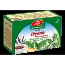 Ceai Digestiv Antibalonare D147 20 plicuri Fares