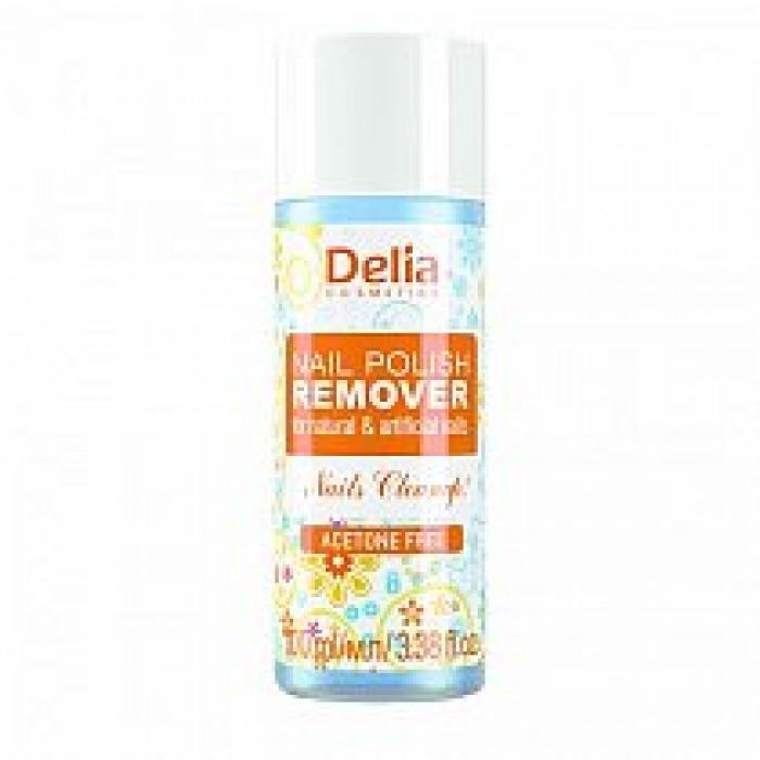 Dizolvant pentru Lac de Unghii fara Acetona 100 ml Delia Cosmetics