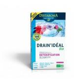 Drain Ideal BIO 20 fiole Detoxifierea organismului Dietaroma France