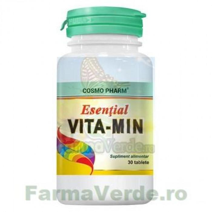 Esential Vita-Min Vitamine Esentiale 30 tablete Cosmopharm
