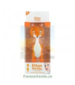 Ethan the Fox jucarie dentitie bebelusi cauciuc natural Minut Vision Trading