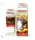 Favivenom Crema masaj cu Venin de Vipera 50 ml Favisan