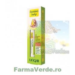 FeminoHelp Ser concentrat pentru regenerarea unghiilor si cuticulelor 2 ml Zdrovit
