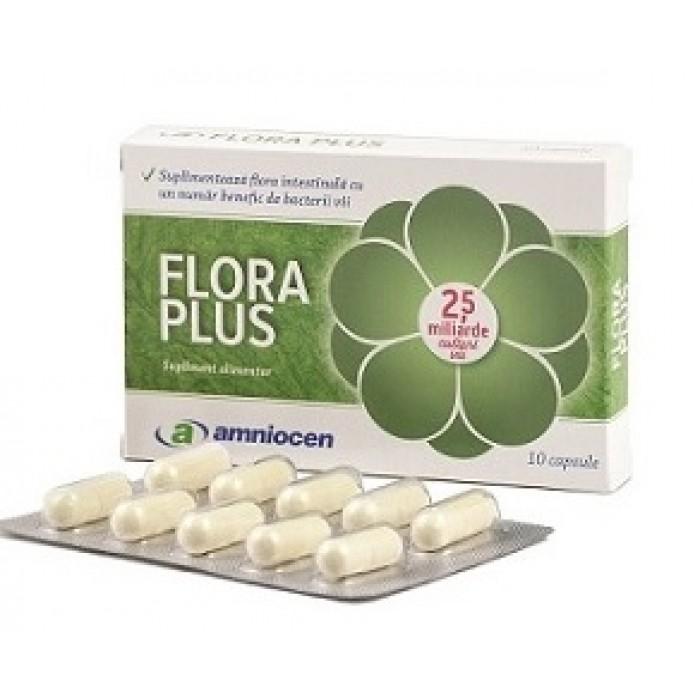 Flora Plus 10 capsule vegetale Amniocen