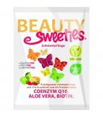 Jeleuri gumate fara zahar cu aroma de fructe, coenizma Q10, aloe vera si biotina 125 gr Beauty Sweeties