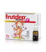 Frutdep Immuno Solutie Imunitate Copii si Bebelusi 10 flacoane DrPhyto