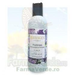 Gel facial exfoliant scrub celulozic 150 ml Herbagen