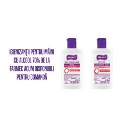 Lotiune pentru Maini dezinfectanta cu Alcool 70% și Glicerina 150 ml Farmec