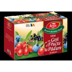 Ceai Goji si Fructe de Padure 20 plicuri Fares Orastie