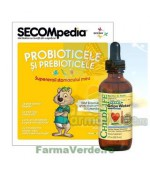 Gripe Water Probiotice si Prebiotice Copii si Bebelusi 59,15 ml ChildeLife Secom