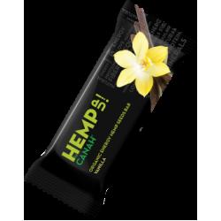 Baton HEMP Seminte de Canepa cu Vanilie BIO 48 gr Canah